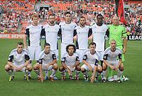 New England Revolution starting eleven.  New England Revolution defeated DC United 1-0,at RFK Stadium, Wednesday July 20, 2011.