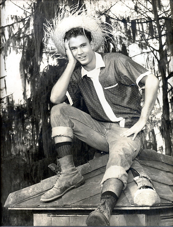 Breaux/attic022602 -- This picture is of a 17 year old Sen. John Breaux (D-La) starring in the St. Michael's High School (Crowley, La) production of Lil' Abner (as Lil' Abner) in 1961.  Before a career in politics, he considered a career on the stage.  Sen. Breaux's birthday is this Friday, March 1.  If you need additional info.  .Brian Weiss.202-224-2137