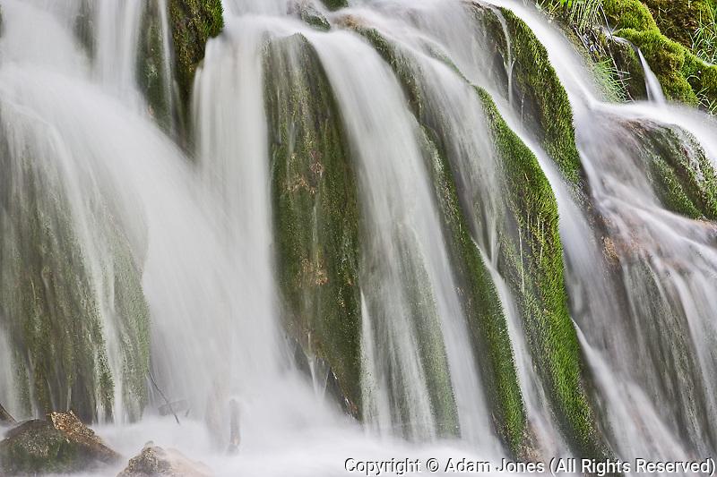 Milanovacki Slap (Waterfall) Plitvice National Park, Croatia
