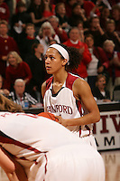 22 December 2007: Rosalyn Gold-Onwude makes two free throws in overtime to ice the game during Stanford's 73-69 win over Tennessee at Maples Pavilion in Stanford, CA.