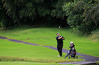 Shane Hogan (Nenagh) on the 2nd during round 1 of The Mullingar Scratch Cup in Mullingar Golf Club on Sunday 3rd August 2014.<br /> Picture:  Thos Caffrey / www.golffile.ie