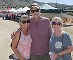 Lisa, Ken and Jayne during the Numaga Indian Days Pow Wow in Hungry Valley on Sunday, Sept. 1, 2019.