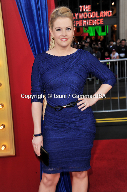 Melissa Joan Hart  at The Incredible Burt Wonderstone Premiere at the Chinese Theatre in Los Angeles.