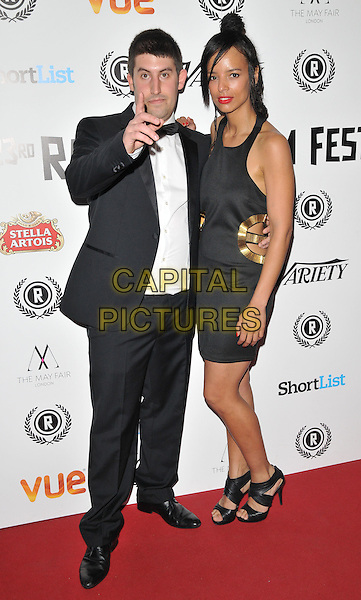 Robert Osman &amp; Veronica Jean Trickett attend the &quot;My Hero&quot; Raindance Film Festival UK film premiere, Vue Piccadilly cinema, Lower Regent Street, London, England, UK, on Friday 25 September 2015. <br /> CAP/CAN<br /> &copy;Can Nguyen/Capital Pictures