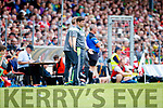 Eamonn Fitzmaurice Kerry manager v Cork in the Munster Senior Football Final at Fitzgerald Stadium on Sunday.