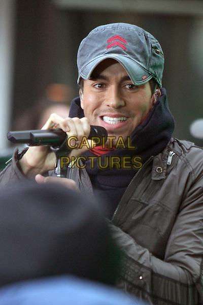 NEW YORK, NY - MARCH 17: Enrique Iglesias performs on NBC's Today Show at Rockefeller Center on March 17, 2014 in New York City, NY., USA.<br /> CAP/MPI/RW<br /> &copy;RW/ MediaPunch/Capital Pictures