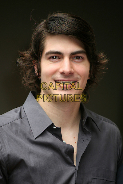 BRANDON ROUTH .Producer Jon Peters Honored with a Star on the Hollywood Walk of Fame in front of Grauman's Chinese Theatre, Hollywood, California, USA,.1 May 2007..portrait headshot grey shirt .CAP/ADM/BP.©Byron Purvis/AdMedia/Capital Pictures.