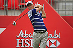 Martin Kaymer tees off on the 1st tee for the Pro-Am match during practice day of the Abu Dhabi HSBC Golf Championship, 19th January 2011..(Picture Eoin Clarke/www.golffile.ie)