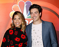 LOS ANGELES - AUG 3:  America Ferrera, Ben Feldman at the NBC TCA Press Day Summer 2017 at the Beverly Hilton Hotel on August 3, 2017 in Beverly Hills, CA