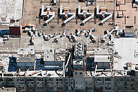 Aerial Denver, Colorado. Gates plant.