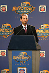 16 January 2004: MLS commissioner Don Garber. The Major League Soccer SuperDraft was held at the Charlotte Convention Center in Charlotte, NC as part of the annual National Soccer Coaches Association of America convention..