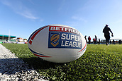 3rd February 2019, Trailfinders Sports Ground, London, England; Betfred Super League rugby, London Broncos versus Wakefield Trinity; Official Betfred Super League rugby ball