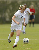 18 February 2004: Megan Rapinoe of the United States, during the friendly game against Mexico, in Mexico City. Mexico won 2-1. MEXSPORT/OMAR MARTINEZ/ISI