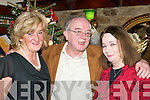 HAPPY: Ann Foley, Paddy Prenderville and Margaret Prenderville having a wonderful night on New Year's Eve in Nick's Restaurant, Killorglin.   Copyright Kerry's Eye 2008