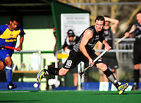 NZ captain Phil Burrows during the international hockey match between the New Zealand Black Sticks and Malaysia at Fitzherbert Park, Palmerston North, New Zealand on Sunday, 9 August 2009. Photo: Dave Lintott / lintottphoto.co.nz