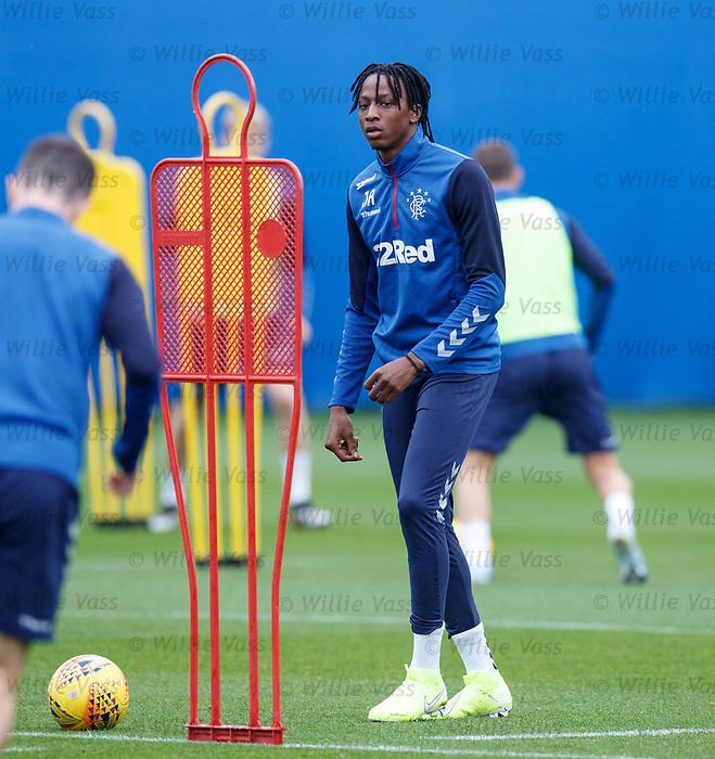 24.09.2019 Rangers training: Joe Aribo