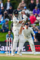 Ish Sodhi of the Black Caps during the final day of the Second International Cricket Test match, New Zealand V England, Hagley Oval, Christchurch, New Zealand, 3rd April 2018.Copyright photo: John Davidson / www.photosport.nz