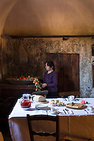 The isolation of the historic village of Santo Stefano di Sessanio has helped sustain local cooking traditions