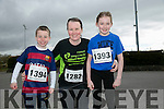 Tadgh O'Connell, Jackie O'Connell, Tarbert and Rebecca Reidy, Castleisland Kingdom Come 10 miler and 5k race at Castleisland on Sunday
