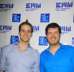 "Doug Larsen and Ben Lindell of EMW Music Group is proud to present ""Shuffle"", its debut album with 100 % of the proceeds being donated to VH1 Save The Music Foundation featuring 14 original songs by 14 original artists - Amber Skye, Matt Balanger, Dan Godlin, Sam Nulton, Gliffics, Johnny Burgos, Bobby Brickstone, Amanda Stone (recent finalist on The Voice), Dan Godlin, Lenny Harold, Roshon, Camo, Freddie Cosmo, Guy Lockard available on June 4, 2013 at www.emwshuffle.org/VIP and at this site for more information. The party was on May 31, 2013 at Bobby's, New York City, New York. (Photo by Sue Coflin/Max Photos)"
