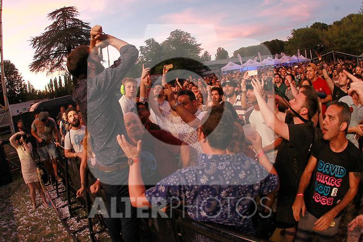 Palencia Sonora Festival. Viva Suecia. June 9, 2017. (ALTERPHOTOS/Acero)