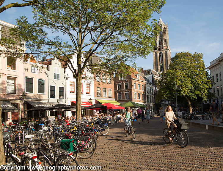 Domtoren, Dom tower, historic buildings, Utrecht, Netherlands