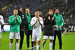 06.10.2019, Commerzbankarena, Frankfurt, GER, 1. FBL, Eintracht Frankfurt vs. SV Werder Bremen, <br /> <br /> DFL REGULATIONS PROHIBIT ANY USE OF PHOTOGRAPHS AS IMAGE SEQUENCES AND/OR QUASI-VIDEO.<br /> <br /> im Bild: Johannes Eggestein (SV Werder Bremen #24), Milot Rashica (SV Werder Bremen #7), Josh Sargent (SV Werder Bremen #19), Claudio Pizarro (SV Werder Bremen #14)<br /> <br /> Foto © nordphoto / Fabisch