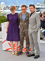 "CANNES, FRANCE. May 16, 2019: Bryce Dallas Howard, Taron Egerton & Richard Madden  at the photocall for the ""Rocketman"" at the 72nd Festival de Cannes.<br /> Picture: Paul Smith / Featureflash"