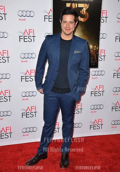 Actor Jorge Diaz at the premiere of his movie &quot;The 33&quot;, part of the AFI FEST 2015, at the TCL Chinese Theatre, Hollywood. <br /> November 9, 2015  Los Angeles, CA<br /> Picture: Paul Smith / Featureflash