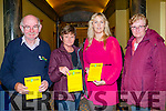 Attending the Right 2 Change on Tuesday evening in Brandon Hotel,Tralee l-r: Mike O'Connor,Trisha Casey,Toiresa Ferris and Eileen McMahon.