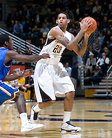 Allen Crabbe of California in action during the game against SJSU at Haas Pavilion in Berkeley, California on December 7th, 2011.   California defeated San Jose State, 81-62.