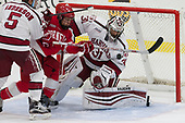 Clay Anderson (Harvard - 5), Mitch Vanderlaan (Cornell - 14), Merrick Madsen (Harvard - 31) - The Harvard University Crimson defeated the visiting Cornell University Big Red on Saturday, November 5, 2016, at the Bright-Landry Hockey Center in Boston, Massachusetts.