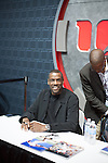"Dwight ""Doc"" Gooden Signs Autographs in the Dodge corner at 2014 NYC Auto Show Held at the NY Jacob Javits Center, NY"
