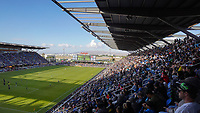 SAN JOSE, CA - SEPTEMBER 30: A general view during a Major League Soccer (MLS) match between the San Jose Earthquakes and the Seattle Sounders on September 30, 2019 at Avaya Stadium in San Jose, California.