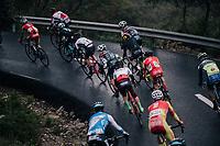 descending on wet new tarmac<br /> <br /> Trofeo Lloseta - Andratx: 140km<br /> 27th Challenge Ciclista Mallorca 2018