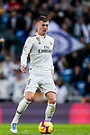 Toni Kroos of Real Madrid in action during the La Liga 2018-19 match between Real Madrid and Rayo Vallencano at Estadio Santiago Bernabeu on December 15 2018 in Madrid, Spain. Photo by Diego Souto / Power Sport Images