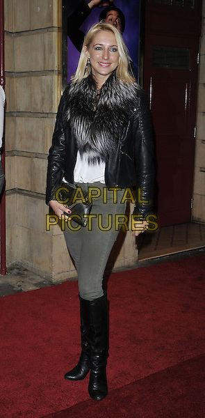 LONDON, ENGLAND - OCTOBER 23: Ali Bastian attends the &quot;Memphis&quot; press night performance, Shaftesbury Theatre, Shaftesbury Avenue, on Thursday October 23, 2014 in London, England, UK. <br /> CAP/CAN<br /> &copy;Can Nguyen/Capital Pictures