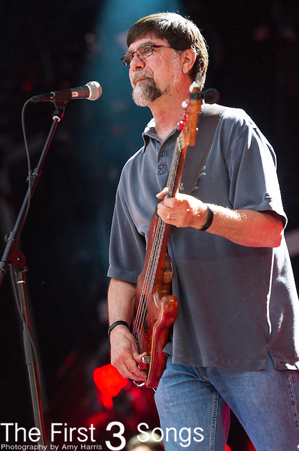 Teddy Gentry of Alabama performs at LP Field during Day Four of the 2014 CMA Music Festival in Nashville, Tennessee.