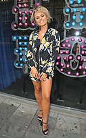 Savanna Darnell at the &quot;The Dreamboys 2018 UK Tour&quot; press night, For Your Eyes Only, City Road, London, England, UK, on Tuesday 10 July 2018.<br /> CAP/CAN<br /> &copy;CAN/Capital Pictures
