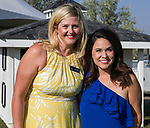 Amy Riley and Shannon Moore during the Art of Childhood Gala and Fundraiser at Montreux Golf and Country Club on Friday, August 24, 2018.