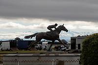 Horse racing at the Phar Lap Raceway in Timaru, New Zealand on Sunday, 19 July 2020. Photo: Joe Johnson / lintottphoto.co.nz