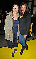 Pauline McLynn and Shobna Gulati at the &quot;Glengarry Glen Ross&quot; press night, Playhouse Theatre, Northumberland Avenue, London, England, UK, on Thursday 09 November 2017.<br /> CAP/CAN<br /> &copy;CAN/Capital Pictures
