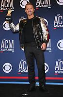 07 April 2019 - Las Vegas, NV - Shane McAnally. 54th Annual ACM Awards Press Room at MGM Grand Garden Arena. Photo Credit: MJT/AdMedia