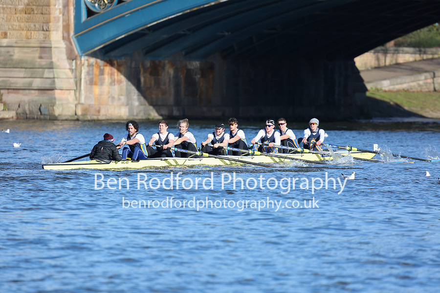 Crew: 4   Nottingham Rowing Club   NRC-GRACA   8+ Band 2<br /> <br /> Head of the Trent 2018<br /> <br /> To purchase this photo, or to see pricing information for Prints and Downloads, click the blue 'Add to Cart' button at the top-right of the page.