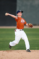 January 16, 2010:  Travis Kindler (Double Oaks, TX) of the Baseball Factory Texas Team during the 2010 Under Armour Pre-Season All-America Tournament at Kino Sports Complex in Tucson, AZ.  Photo By Mike Janes/Four Seam Images