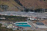 aerial photograph of the Diablo Canyon Nuclear Power Plant, Avila Beach, San Luis Obispo County, California