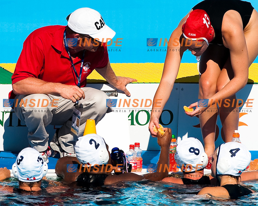 Roma 21th July 2009 - 13th Fina World Championships From 17th to 2nd August 2009..Water Polo Women..Semifinal....CAN 8 - 7 RUS....photo: Roma2009.com/InsideFoto/SeaSee.com