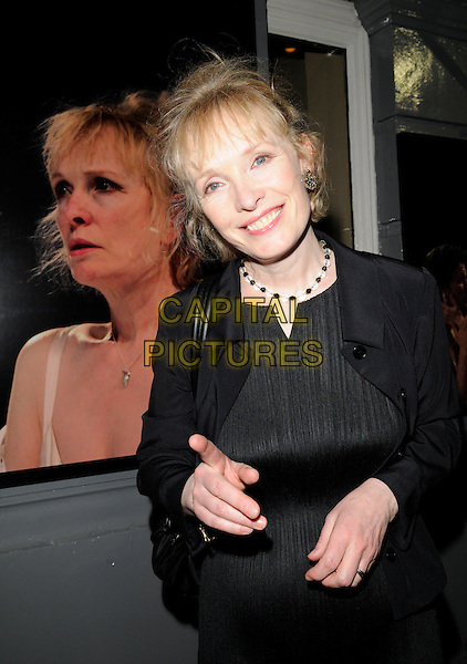 "LINDSAY DUNCAN .Attends ""That Face"" Press Night, Duke Of York's Theatre, London, England, UK,.May 9th 2008..half length black jacket dress.CAP/CAN.©Can Nguyen/Capital Pictures"
