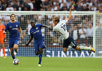 Tottenham's Harry Kane tussles with Chelsea's N'Golo Kante during the premier league match at the Wembley Stadium, London. Picture date 20th August 2017. Picture credit should read: David Klein/Sportimage