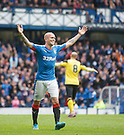 Nicky Law celebrates after he scores for Rangers